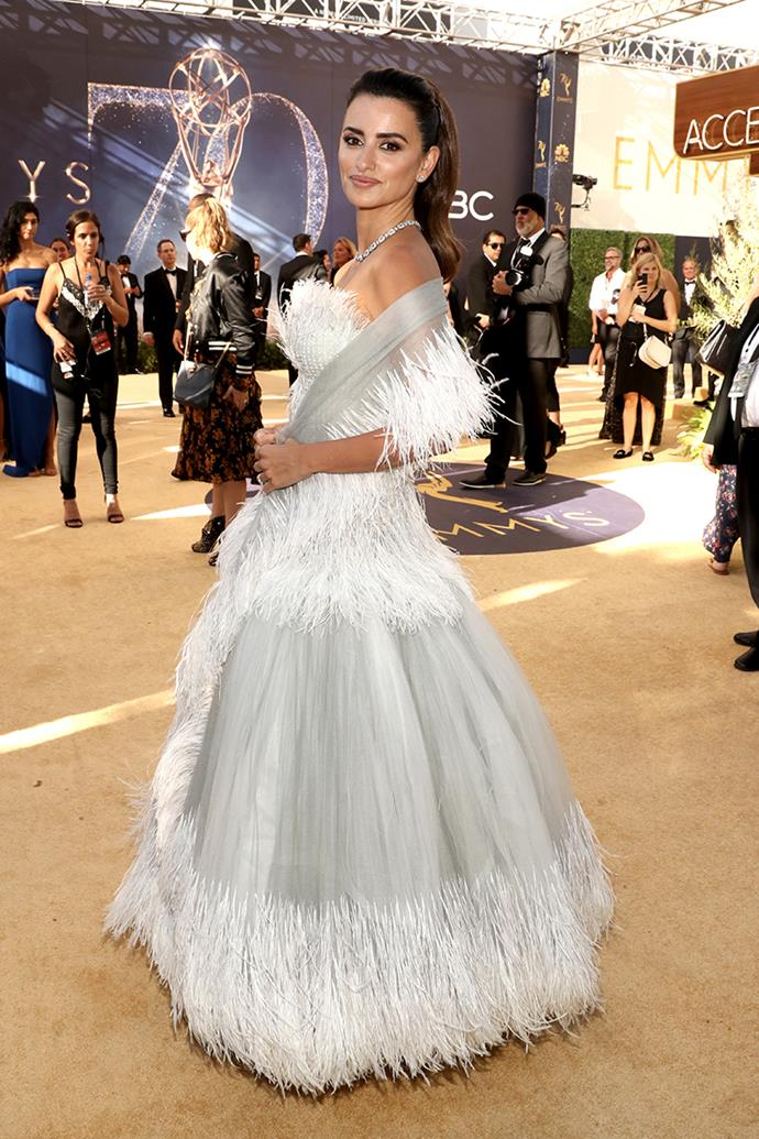 Penelope Cruz in Chanel.