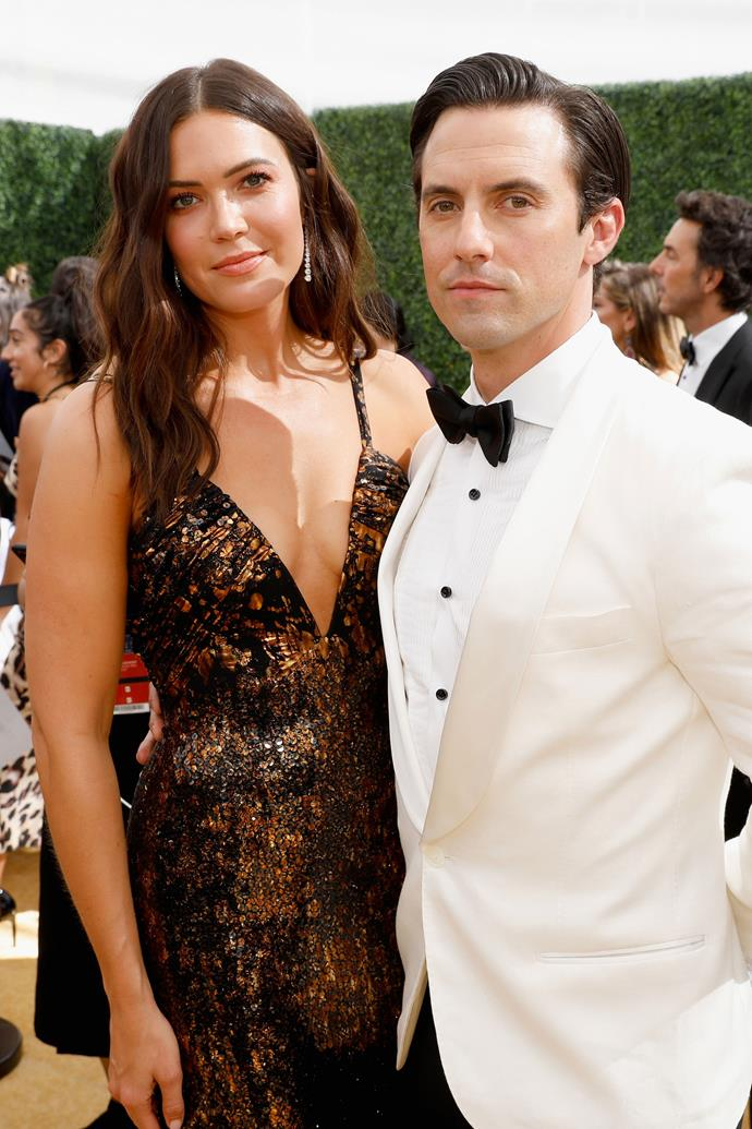 **HONOURABLE MENTIONS:** <br><br> Mandy Moore and Milo Ventimiglia. <br><br> No, they might not be dating IRL, but this on-screen couple couldn't resist taking a snap or two as their on-screen characters, husband and wife Rebecca and Jack Pearson—and we are 100 here for it.