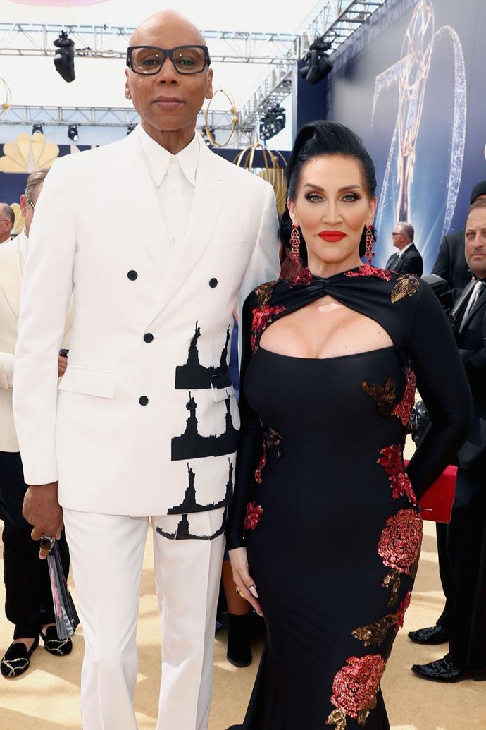 **HONOURABLE MENTIONS:** <br><br> Ru Paul and Michelle Visage. <br><br> The *Drage Race* host and judge duo do make a fine pair indeed, if not as a couple, then as each other's ideal match for the synchronised serving of fierce looks.