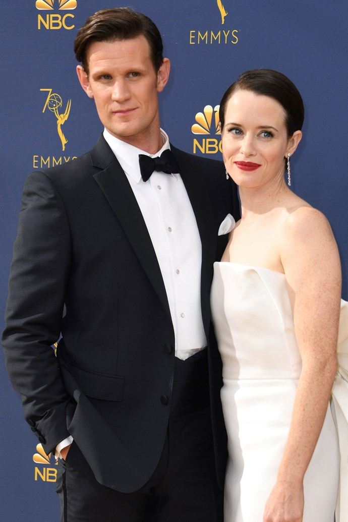 **HONOURABLE MENTIONS:** <br><br> Claire Foy and Matt Smith. <br><br> Yes, not a real couple, we know. But if they can play the ultimate regal couple of two years, then five more minutes of role play on the Emmy red carpet is a small ask.