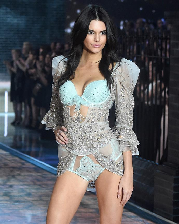 "***2015: Kendall Jenner against her family*** <br><br> The drama surrounding [Jenner](https://www.elle.com.au/celebrity/kendall-jenner-ben-simmons-breakup-18454|target=""_blank"")'s first VS show was documented on her family's show *Keeping Up With The Kardashians*, with the social media model dramatically telling her famous parents and siblings not to attend as they'd ""steal her moment"". <br><br> Nevertheless, Kendall's parents Kris and Caitlyn Jenner got their way, and sat front-row at Kendall's debutante show."