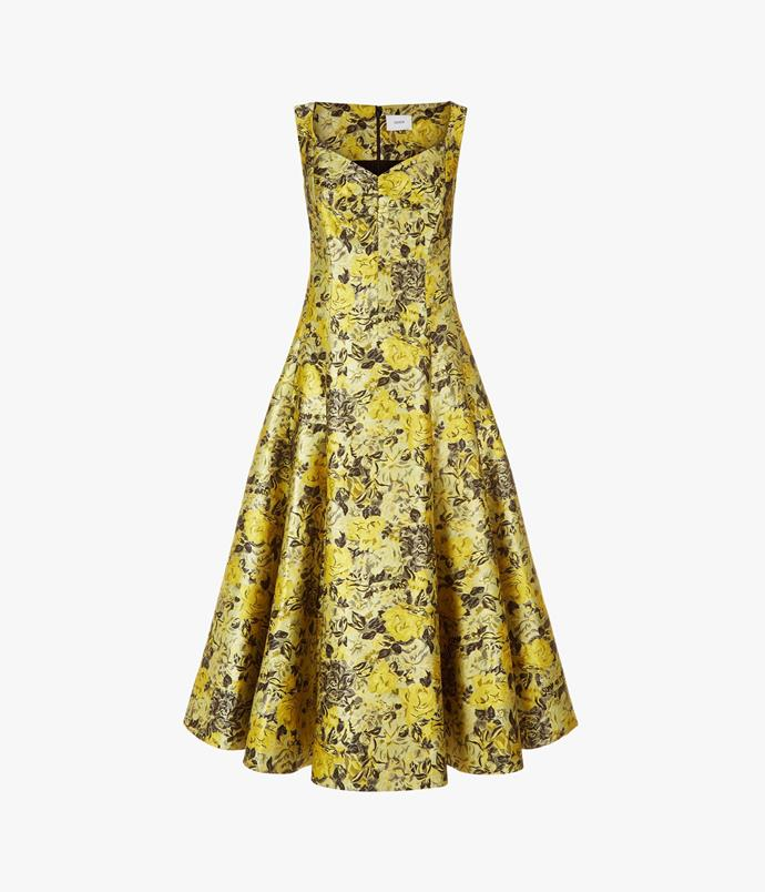 "Erdem dress, $4,895 at [Harrolds](https://www.harrolds.com.au/brands/erdem/erdem/|target=""_blank""