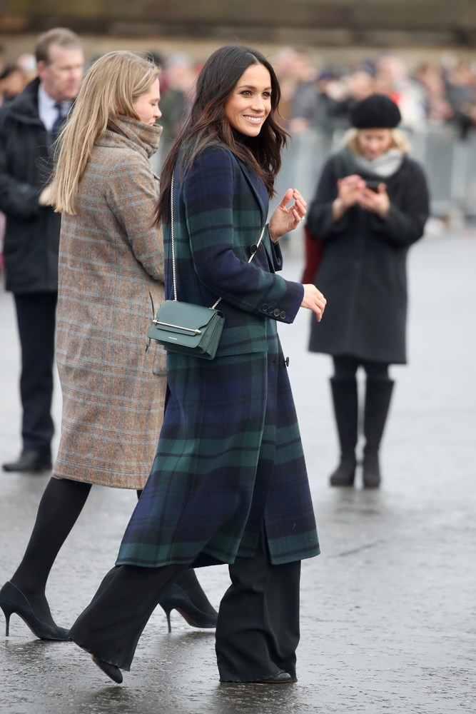 "***Her too-long pants***<br><br> During an outing in Scotland, Meghan bundled up in a chic tartan coat from Burberry. But it was her trousers that caught most of the attention for being a touch too long and dragging on the wet ground. ""These Veronica Beard trousers are much too long. I get it, you're not tall. But longer trousers don't make you look longer, they just look sort of sloppy,"" wrote one critic."