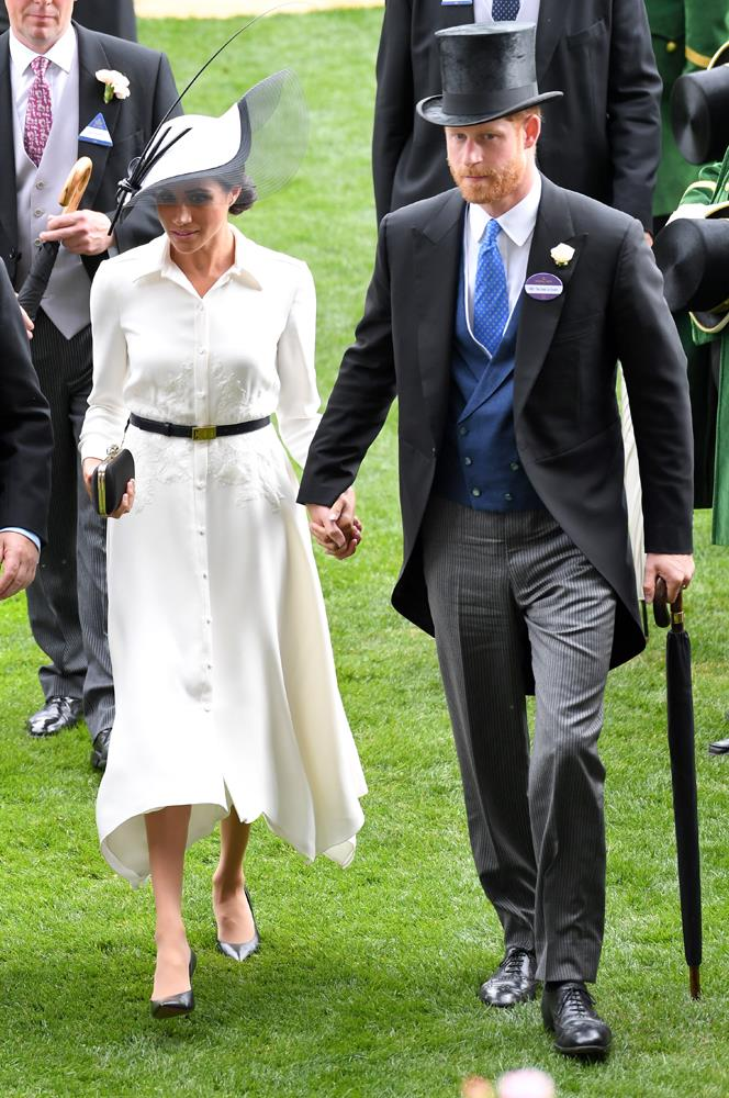 ***Her lack of name pin***<br><br> As one of the most photographed women in the world, it's hard to believe that anyone needs a name badge to identify Meghan. But fans were very cross with her when she neglected to wear her name pin to Royal Ascot, instead choosing to carry in her hand.