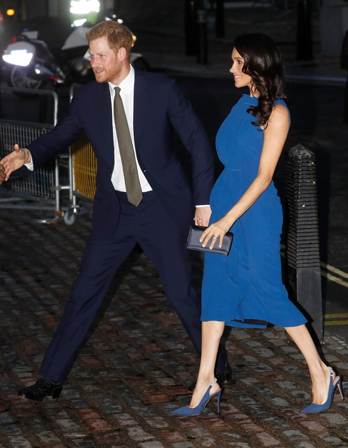 ***Her ruffled dress***<br><br> Three months after her wedding to Prince Harry, we could have predicted that this Jason Wu dress—with a very voluminous ruffled detail—would set the pregnancy rumour mill in motion.