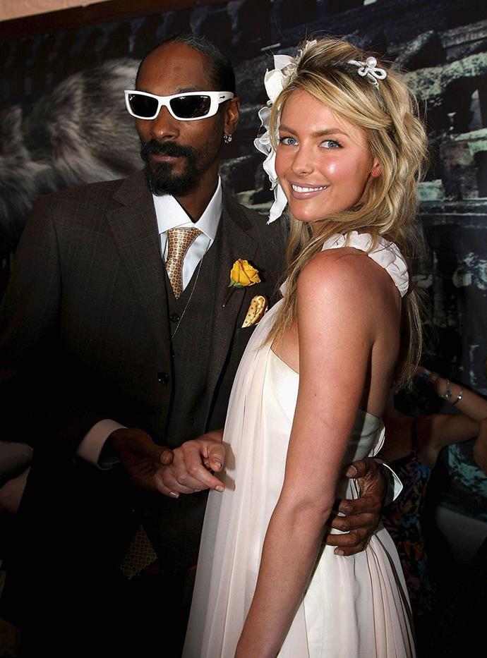 Snoop Dogg and Jennifer Hawkins, 2008.
