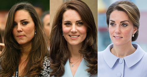 Kate Middleton's Before-And-After Beauty Makeover