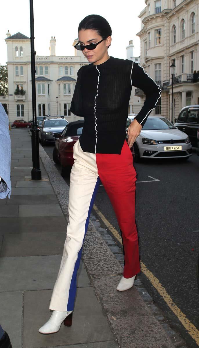 Kendall Jenner at London Fashion Week spring/summer '19