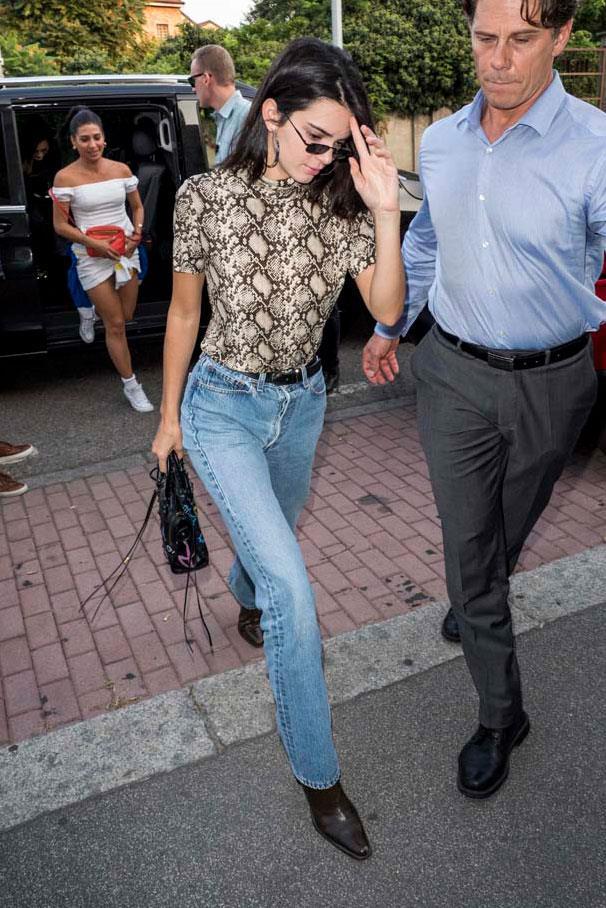 Kendall Jenner at Milan Fashion Week spring/summer '19