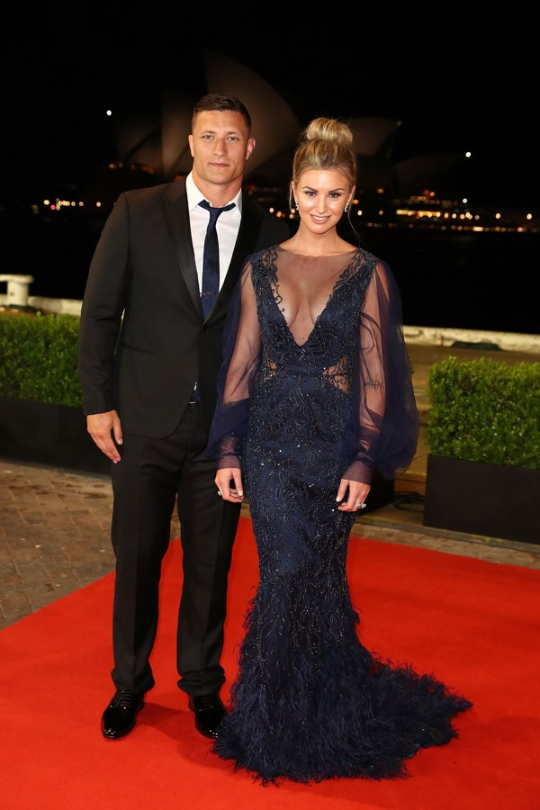 Tariq Sims and Ashleigh Sudholz.