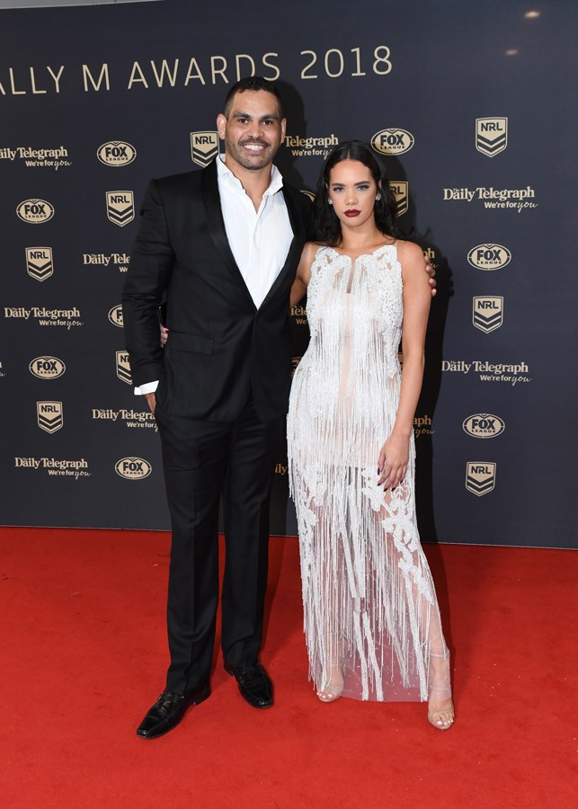 Greg Inglis and Lakaree Smith.