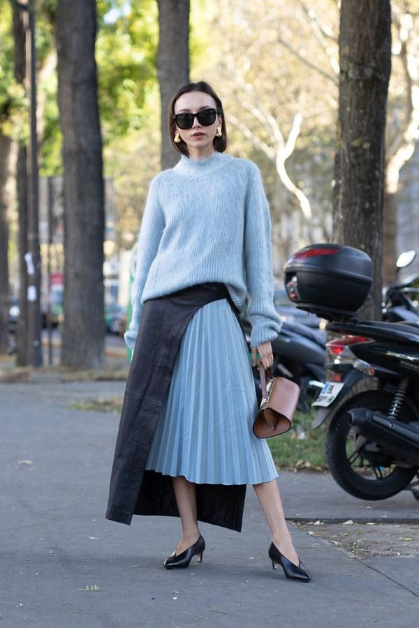 The humble midi-skirt.