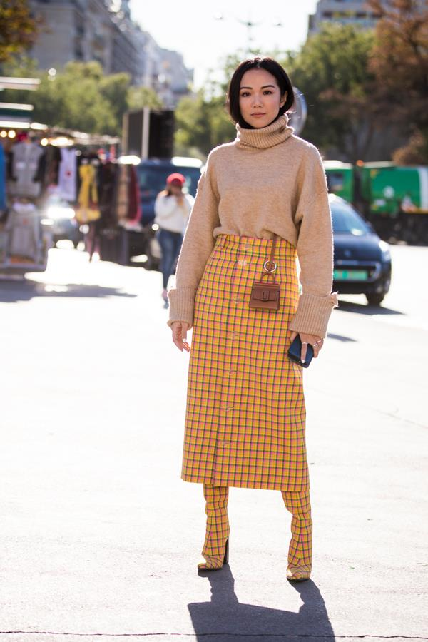 Cher-from-*Clueless* yellow check.