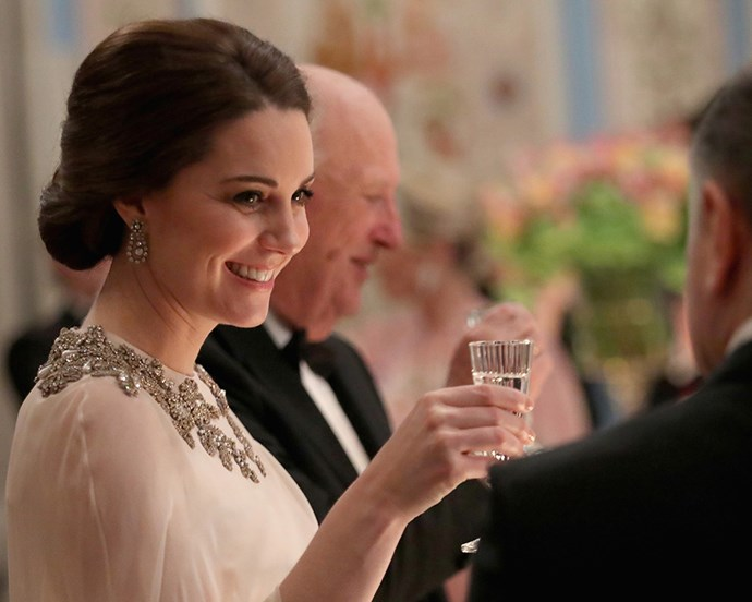 """***Tap Water*** <br> While tap water seems completely fine for the rest of the United Kingdom, members of the royal family are reportedly not allowed to consume water from taps due to health concerns.  <br><br> [*Inquisitr*](https://www.inquisitr.com/5098514/meghan-markle-kate-middleton-are-forbidden-to-eat-these-foods/