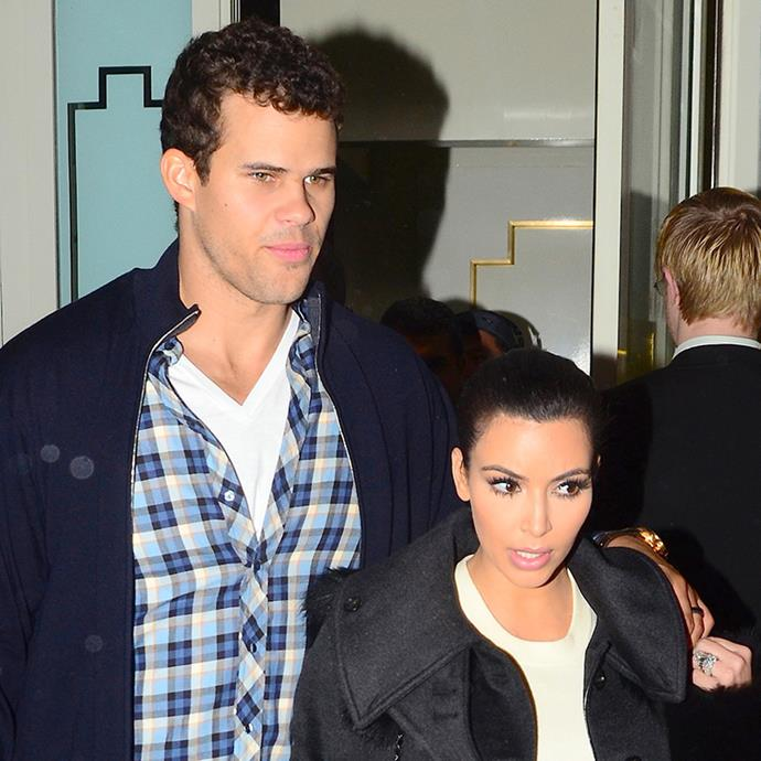 "***Kris Humphries*** <br> While [Kim Kardashian](https://www.elle.com.au/celebrity/kim-kardashian-exercise-1-17928|target=""_blank"") was publicly slammed after her 2011 divorce, her ex-husband Kris Humphries didn't come out unscathed, either.  <br><br> The lengthy proceedings of the divorce took almost two years to finalise—with Kim revealing Humphries was suing her for ""claiming [she] used the marriage for publicity"". By the time the divorce wrapped up, Kardashian was pregnant with her and Kanye West's daughter, North (it literally took *that* long)."