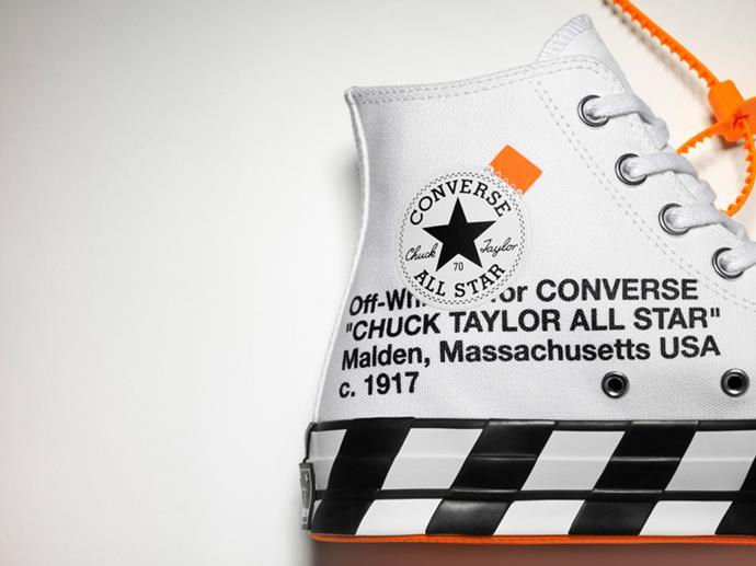 Converse x Off-White collaboration
