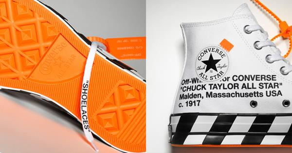 4ca4ace81369 Converse x Off White Release Sneaker Collaboration