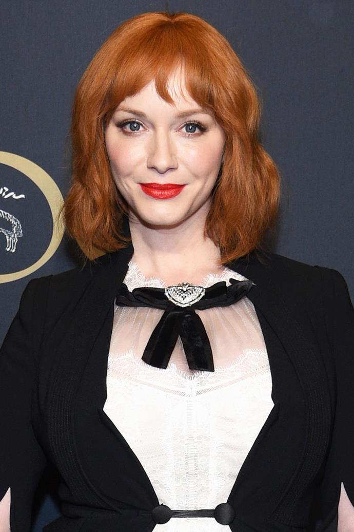 **Christina Hendricks** <br><br> Retro-loving <em>Mad Men</em> actress Christina Hendricks shows you can never have too much of a good thing.
