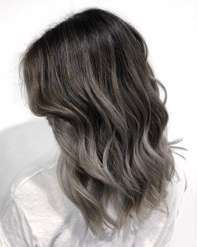"""**6. Charcoal Hair** <br><br> Image: [@thecanaryqueen](http://hotsta.net/thecanaryqueen
