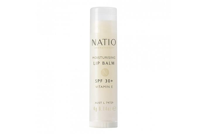 "**BEST LIP BALM FOR THE BEACH**<br><br>  Lips need sun protection just as much as the rest of your skin, and this vitamin E and aloe vera-based balm offers SPF 30+ protection (without looking like zinc) and water resistance for up to four hours.  *Moisturising Lip Balm with SPF 30+ and Vitamin E by Natio, $4.95 at [Myer](https://fave.co/32Ej6lN|target=""_blank""