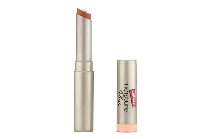 """**With a bit of Colour: Carmex Moisture Plus Ultra Hydrating Lip Balm Peach Sheer Tint, $8.99 at [Priceline](https://www.priceline.com.au/carmex-moisture-plus-ultra-hydrating-lip-balm-peach-sheer-spf15-2-g