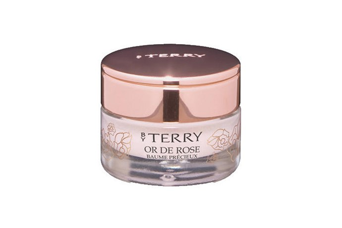 "**For Evening: By Terry Or De Rose Baume Precieux, $88 at [Mecca](https://www.mecca.com.au/by-terry/baume-de-rose/I-003628.html|target=""_blank""