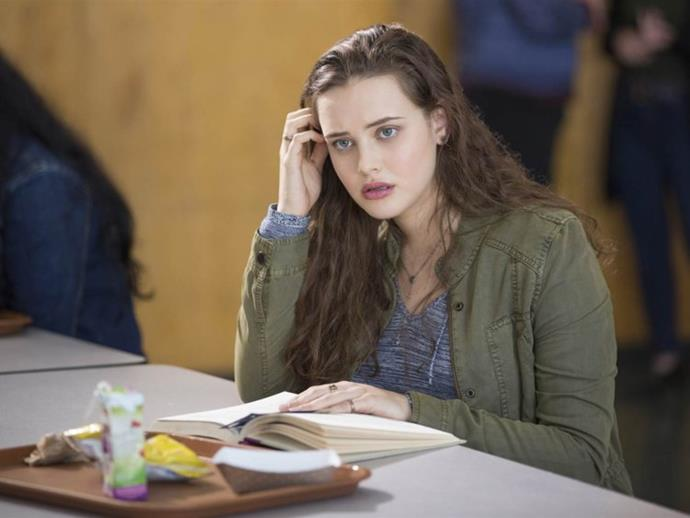 Katherine Langford as Hannah Baker in *13 Reasons Why*