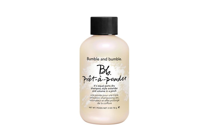 """**Prêt-à-Powder by Bumble and Bumble, $41 at [Mecca](https://www.mecca.com.au/bumble-and-bumble/pret-a-powder/V-017880.html