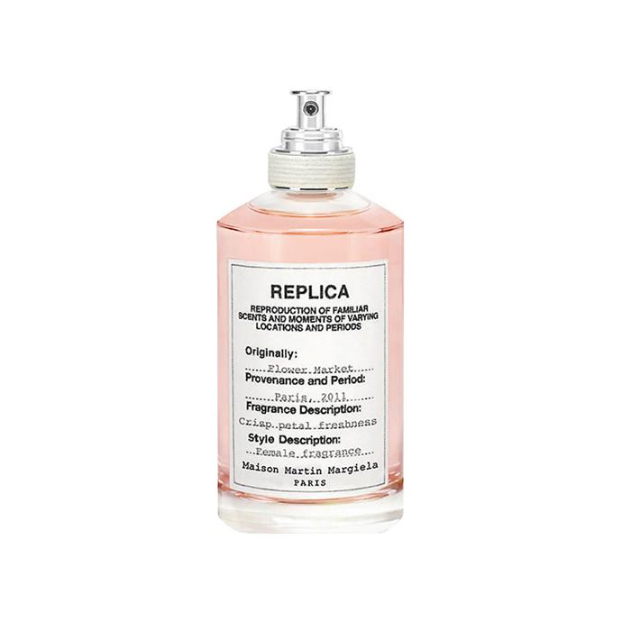 "**Maison Margiela Replica Flower Market, $180 at [Barneys](https://www.barneys.com/product/maison-margiela-flower-market-503251980.html|target=""_blank""