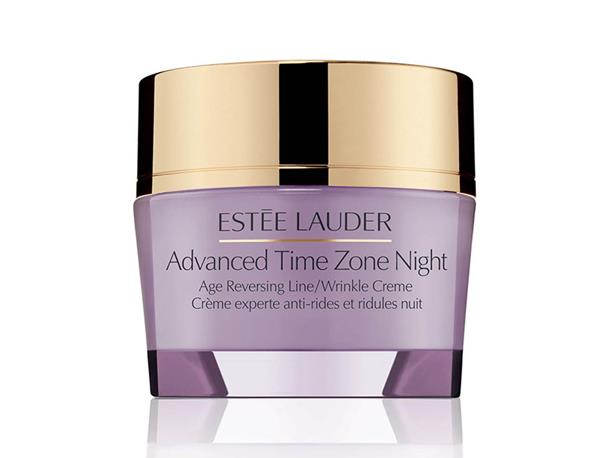 "A perfect night cream for those with sensitive skin, Estée Lauder's double action cream smooths and firms the skin while you snooze.<br><Br> Advanced Time Zone Night Age Reversing Line/Wrinkle Creme by Estée Lauder, $120 at [Myer](https://www.myer.com.au/shop/mystore/564503|target=""_blank""