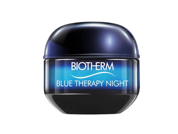 "Biotherm's petro-chemical, paraben and silicone-free night cream is a holiday for the skin. Ultra-hydrating, it works to detox the skin, with help from tea, buckwheat and cranberry extracts.<bR><Br> Blue Therapy Night by Biotherm, $93 at [AllBeauty](http://www.allbeauty.com/au/en/1166226-biotherm-blue-therapy-accelerated-cream-50ml|target=""_blank""