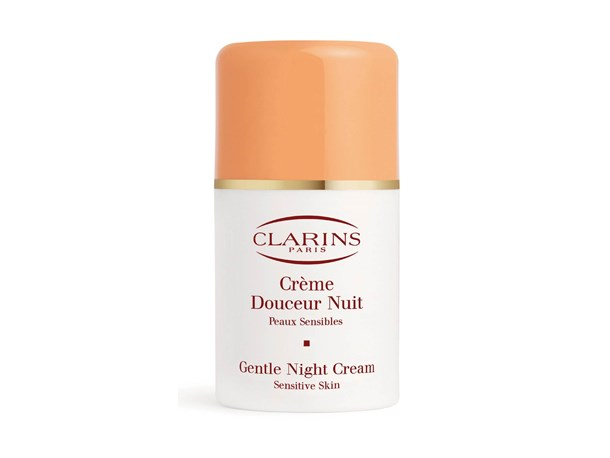 "A more general night cream, ideal for application over an antioxidant packed or anti-aging serum.<br><Br> Gentle Care Gentle Day Cream for Sensitive Skin, $80 at [Clarins](https://www.clarins.com.au/gentle-day-cream---sensitive-skin/0031610.html|target=""_blank""