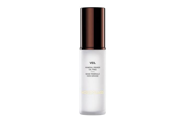 """**Veil Mineral Primer SPF 15 by Hourglass, $79 at [Mecca](https://www.mecca.com.au/hourglass/veil-mineral-primer-spf-15/V-007520.html