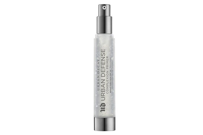 "**Urban Defense Complexion Primer Broad Spectrum SPF 30 by Urban Decay, $57 at [Mecca](https://www.mecca.com.au/urban-decay/urban-defense-complexion-primer-broad-spectrum-spf-30/I-026681.html|target=""_blank""