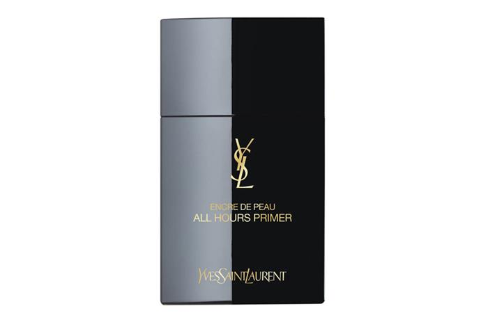 "**All Hours Primer by YSL, $72 at [Mecca](https://www.mecca.com.au/yves-saint-laurent/all-hours-primer/I-027743.html|target=""_blank""