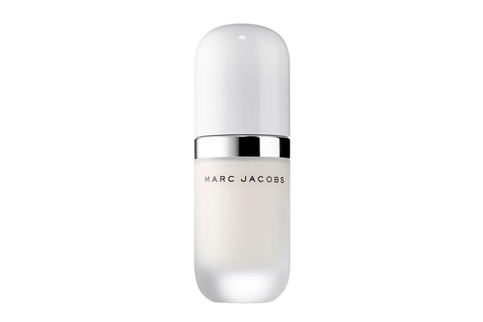 "**Under(cover) Perfecting Coconut Face Primer by Marc Jacobs Beauty, $63 at [Sephora](https://www.sephora.com.au/products/marc-jacobs-under-cover-perfecting-coconut-primer/v/default|target=""_blank""