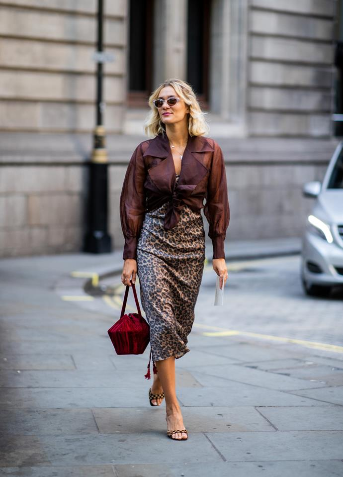 **Sales** <br><br> One of the most desirable traits for anyone in sales is confidence. Why? Because that can directly impact their ability to sell something to customers. And nothing shows confidence more than someone who can pull-off an elegant slip or pencil skirt without breaking stride.