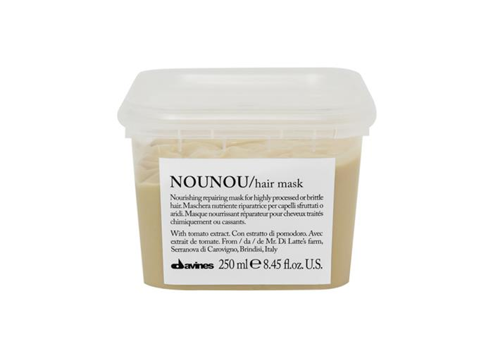 "**Davines Nourishing Repairing Mask 250ml by NOUNOU. $38.95 at [Salon Style](https://salonstyle.com.au/collections/davines/products/davines-nounou-mask-250ml-p680|target=""_blank""