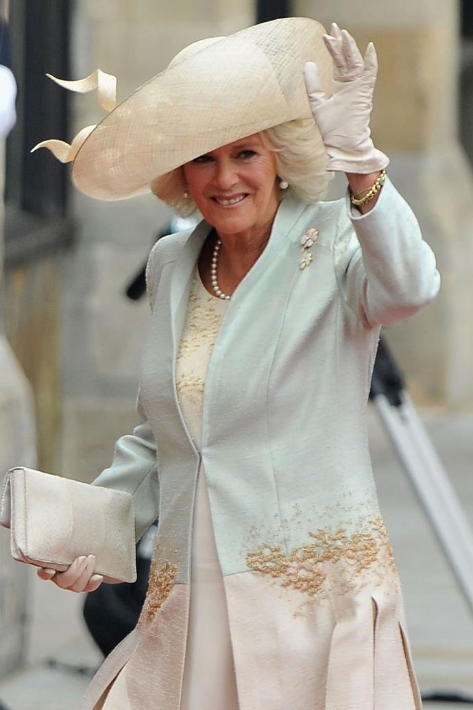 "**CAMILLA, DUCHESS OF CORNWALL** <br> While her reasons for missing out on Princess Eugenie's wedding may not be as fraught with drama, the Duchess of Cornwall [won't be attending](https://www.harpersbazaar.com.au/culture/camilla-not-attending-princess-eugenie-wedding-17462  the royal wedding.  <br><br> According to royal commentator Victoria Arbiter, Camilla won't be able to attend the nuptials as she's already committed to another engagement. ""I know it seems odd that Camilla's missing Eugenie's wedding but it doesn't indicate any malice or ill-feeling,"" Arbiter wrote on [Twitter](https://twitter.com/victoriaarbiter/status/1048755272745795584