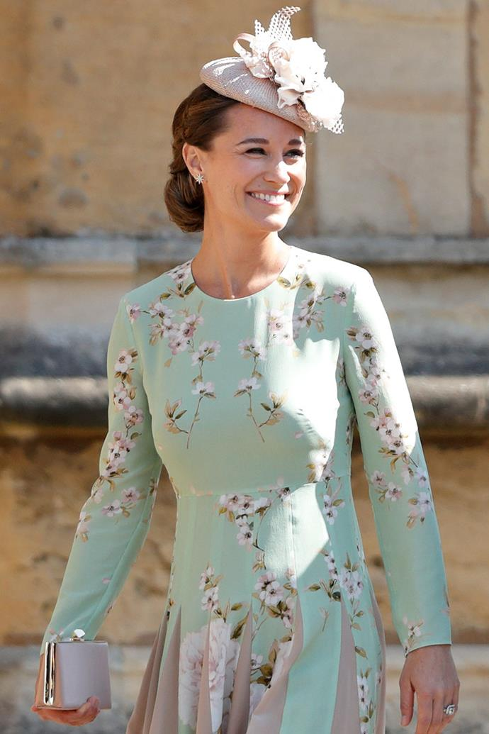 "**PIPPA MIDDLETON** <br> While she isn't strictly a royal, we're guessing that Princess Eugenie would have likely extended an invite to Kate Middleton's sister, Pippa. <br><br> But considering Middleton [recently stepped into](https://people.com/royals/pippa-middleton-give-birth-lindo-wing-kate-middleton/|target=""_blank""