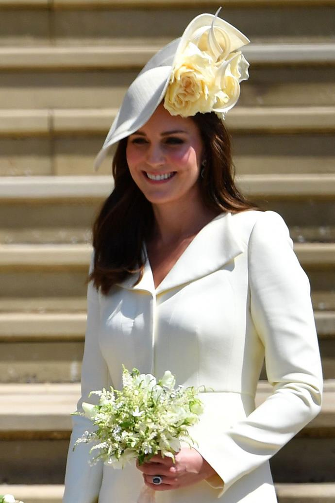 "**KATE MIDDLETON** <br> While the Duchess of Cambridge is all but confirmed to be [attending Friday's royal nuptials](https://www.harpersbazaar.com.au/fashion/kate-middleton-princess-eugenie-royal-wedding-16516|target=""_blank""), there is a single factor that could suddenly pull Middleton out of Princess Eugenie's festivities. <br><br> If her sister, Pippa, indeed goes into labour before, or even on Friday, it's likely Middleton will accompany her to the Lindo Wing and stay by her side."