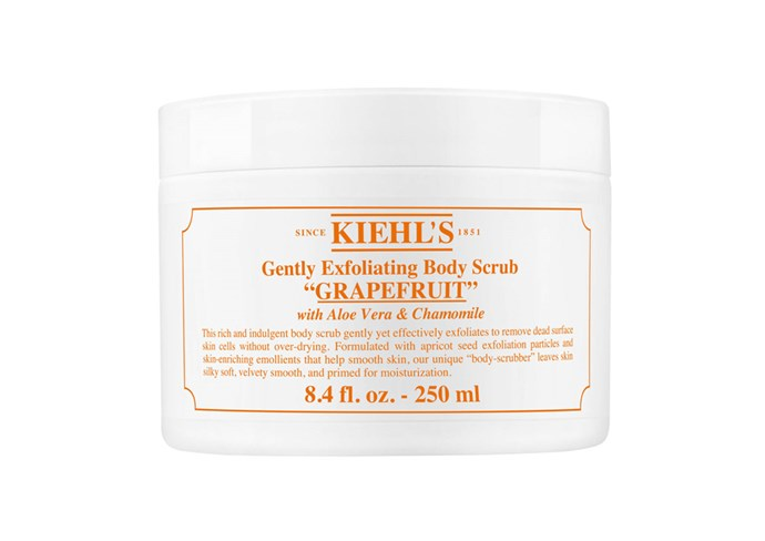 """**Gently Exfoliating Body Scrub, $36 at [Kiehl's](https://www.kiehls.com/body/body-wash-and-scrubs/gently-exfoliating-body-scrub/KHL476.html