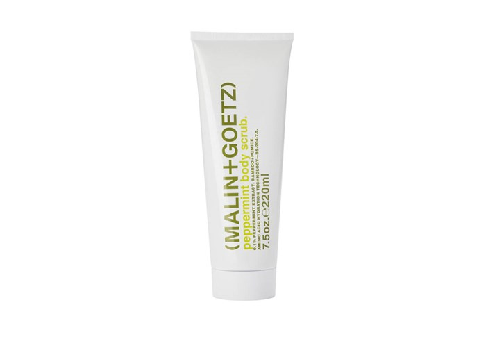 """**Peppermint Body Scrub by Malin+Goetz, $51 by [Mecca](https://www.mecca.com.au/malin-goetz/peppermint-body-scrub/I-002138.html