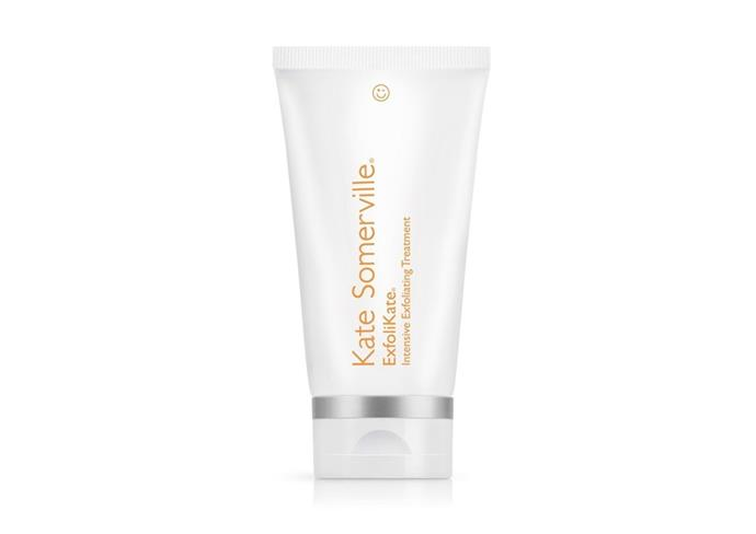 "**ExfoliKate Intensive Exfoliating Treatment by Kate Somerville, $124 at [Mecca](https://www.mecca.com.au/kate-somerville/exfolikate-intensive-exfoliating-treatment/V-017876.html|target=""_blank""