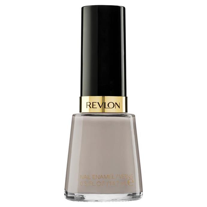 """""""It's not to peachy but not too white either. Just perfect!"""" Dee Jenner, Market editor.<br><br> Nail enamel in 'Elegant' by Revlon, $13.95 at [Priceline](https://www.priceline.com.au/revlon-classic-nail-enamel-14-7-ml