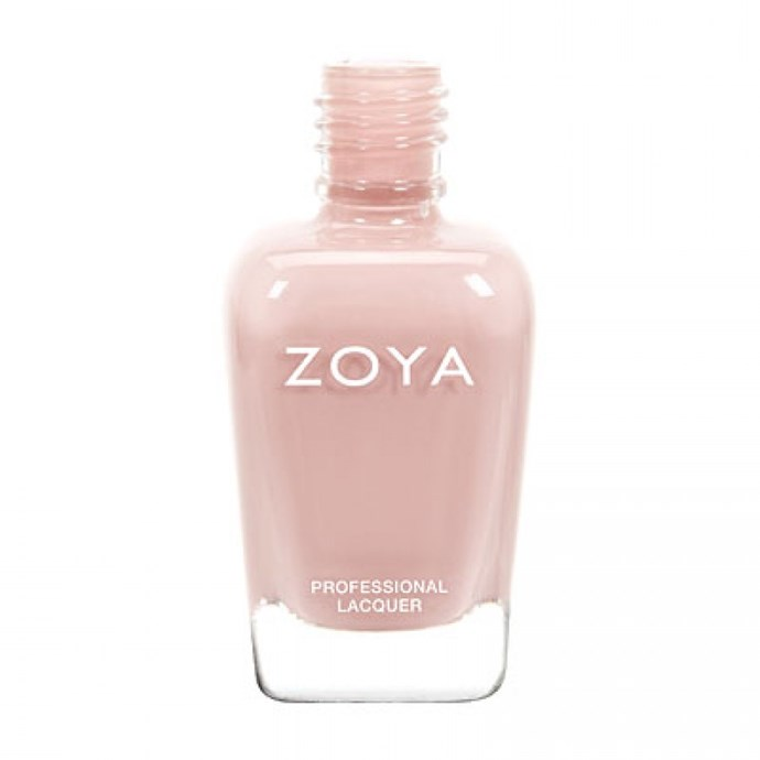 """It's a shade lighter than my skin tone so looks fresh for work and is thick enough that one coat is enough when I'm in a rush."" Sophie Miura, Syndication and bookings manager.<br><Br> Nail Polish in Avery, $19 by [Zoya](http://www.zoya.com.au/avery-zoya-nail-polish