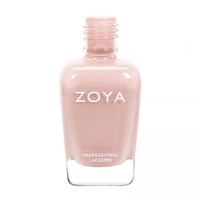 """""""It's a shade lighter than my skin tone so looks fresh for work and is thick enough that one coat is enough when I'm in a rush."""" Sophie Miura, Syndication and bookings manager.<br><Br> Nail Polish in Avery, $19 by [Zoya](http://www.zoya.com.au/avery-zoya-nail-polish