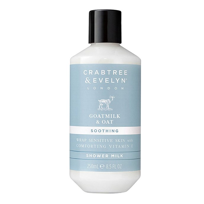 "Crabtree And Evelyn Goatmilk & Oat Triple Milled Soap, $12 at [Myer](https://www.myer.com.au/shop/mystore/beauty/bath-body/bath/crabtree-and-evelyn-goatmilk---oat-triple-milled-soap-100g|target=""_blank""
