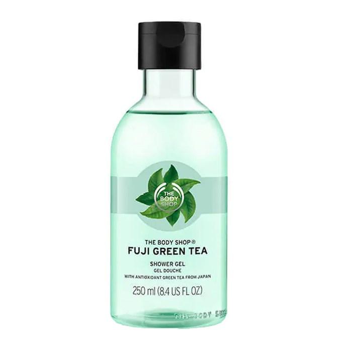"The Body Shop Fuji Green Tea  Shower Gel, $11 at [The Body Shop](https://www.thebodyshop.com/en-au/body-care/body-wash-shower-gel/fuji-green-tea-shower-gel/p/p000443 target=""_blank"" rel=""nofollow"")"