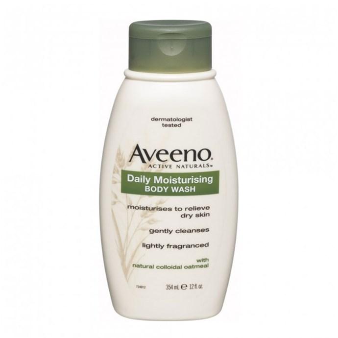 "Aveeno Daily Moisturising Body Wash, $9.99 at [Priceline](https://www.priceline.com.au/brand/aveeno/aveeno-daily-moisturising-body-wash-354-ml target=""_blank"" rel=""nofollow"")"